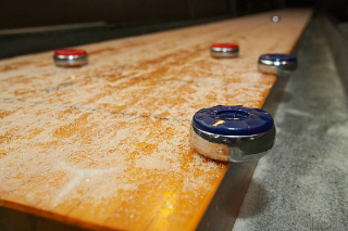 SOLO® Shuffleboard Movers Alamo Heights, Texas.